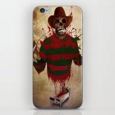 A Nightmare on my Street iPhone & iPod Skin