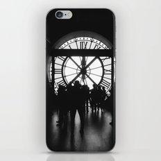 PARIS IV - CLOCK iPhone & iPod Skin