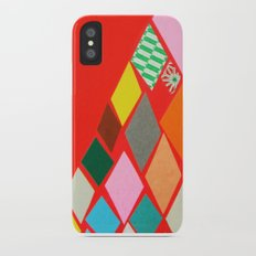 Red Mountain iPhone X Slim Case