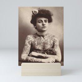 Maud Wagner Tattoo Photograph Mini Art Print