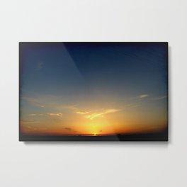 Sunset 041417 Abilene, Texas Metal Print
