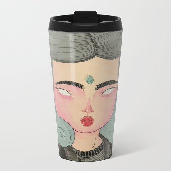 Ghouliette Metal Travel Mug