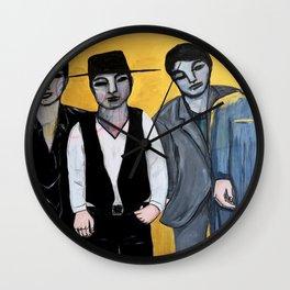Los Amigos Wall Clock