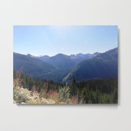 Serenity of the mountains Metal Print