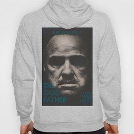 The Godfather, minimalist movie poster, Marlon Brando, Al Pacino, Francis Ford Coppola gangster film Hoody
