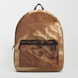 unmade bed Backpack