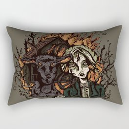 The Vvitch Rectangular Pillow