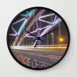 Trails of Lights - LG Wall Clock