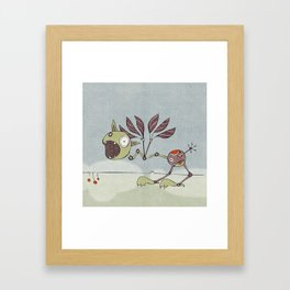 Shrieky Framed Art Print