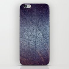 Violet and Purple Wood Texture iPhone & iPod Skin