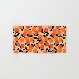 Seamless Citrus Pattern / Oranges Hand & Bath Towel