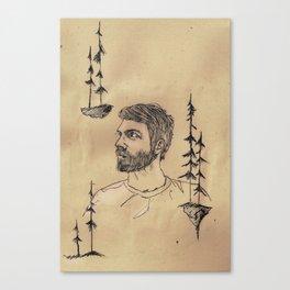 Nahte Canvas Print