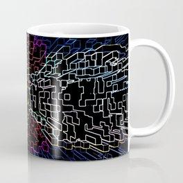 Abstract Colorado Flag Coffee Mug