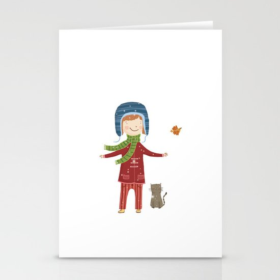 A  BIRD  IN LOVE  Stationery Cards