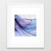 fishing Framed Art Prints featuring fishing by Claudia Drossert