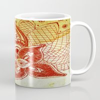 rare Mugs featuring Rare Bloom by SecondLevelPrints