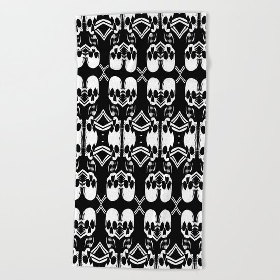 Saber Skulls Beach Towel