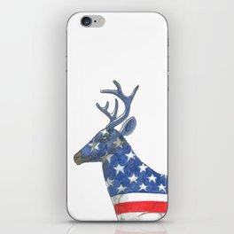 USA Whitetail Deer iPhone Skin