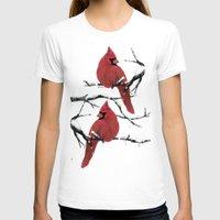 cardinal T-shirts featuring Cardinal by Ben Geiger