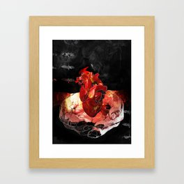 How to Start a Fire Framed Art Print