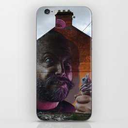 Ice Cream Man iPhone Skin