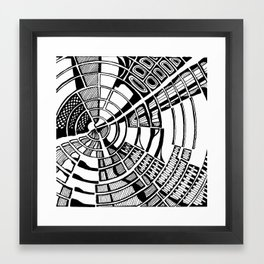 Post Modern Graphic Print Framed Art Print
