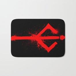 Bloody Rune Bath Mat
