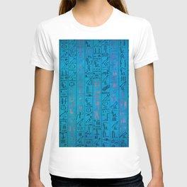 Ancient egyptian blu T-shirt