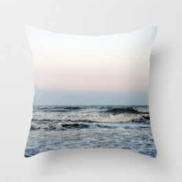 Folly Beach, South Carolina Throw Pillow