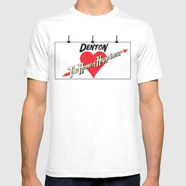 Denton - Home of Happiness T-shirt