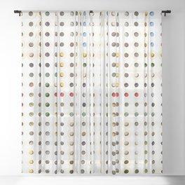 247 Toilet Rolls 15 Sheer Curtain