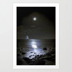 Moonshine Bay Art Print