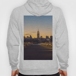 Sunset in New York City (Color) Hoody