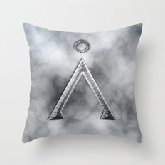 Stargate and smoke Throw Pillow