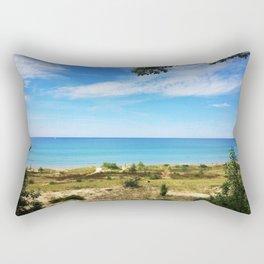 Good Morning Lake Michigan Rectangular Pillow