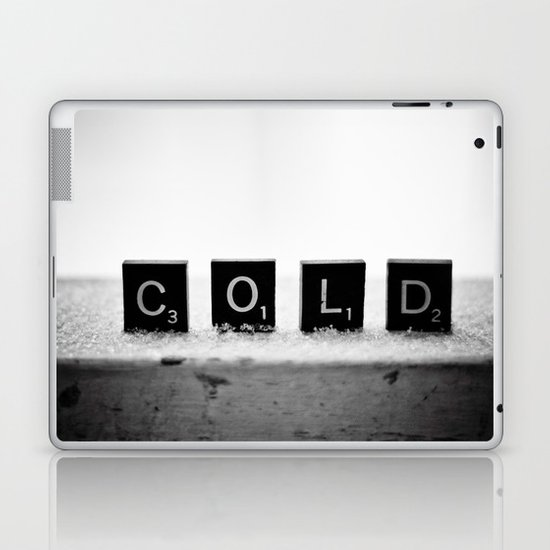 Cold Scrabble Tiles Laptop & iPad Skin