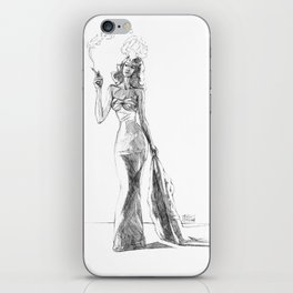The Noir Style 1 iPhone Skin
