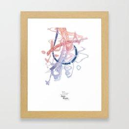 Jazz and Blues Framed Art Print