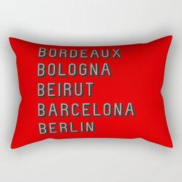 Join the Journey – Berlin Rectangular Pillow