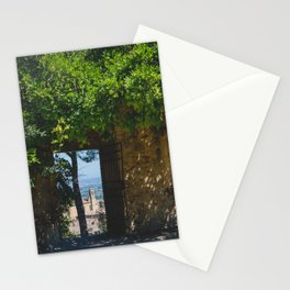 portals .:. san gimignano Stationery Cards