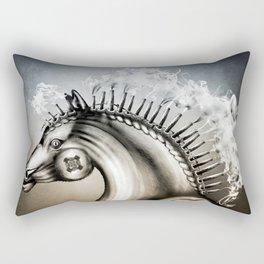 Mechanical horse Rectangular Pillow