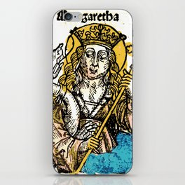 Saint Margaret of Antioch iPhone Skin