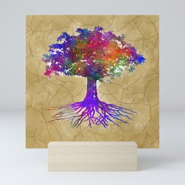Tree Of Life Batik Print Mini Art Print