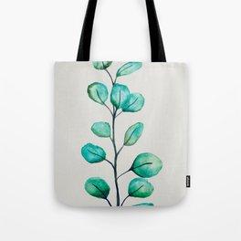 Green eucalyptus Tote Bag