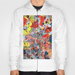 abstract painting art Hoody