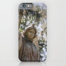 Bonaventure Cemetery Angel II iPhone Case