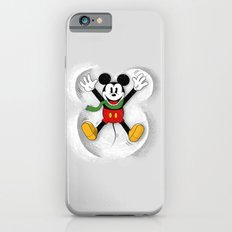 Snow Mickey Slim Case iPhone 6
