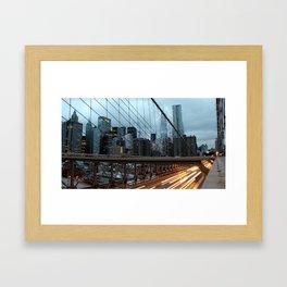 Good Morning New York Framed Art Print