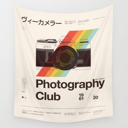Photography Club Wall Tapestry