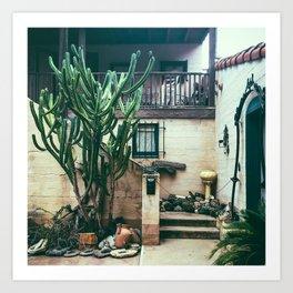 Cactus Casita Art Print